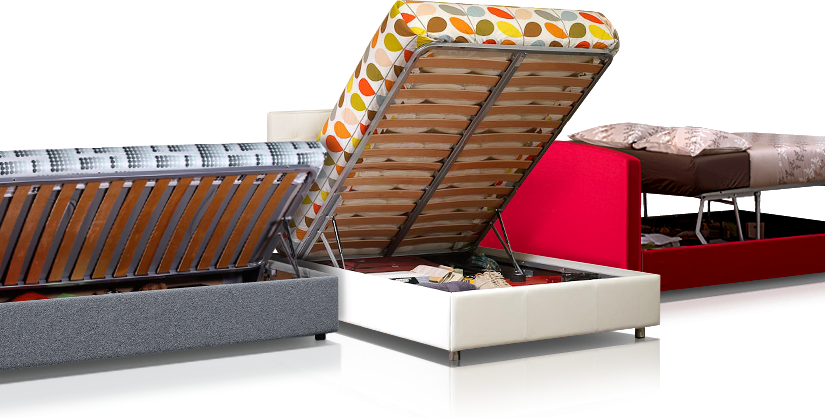 High-quality, easy-to-open storage beds designed and built by Furl