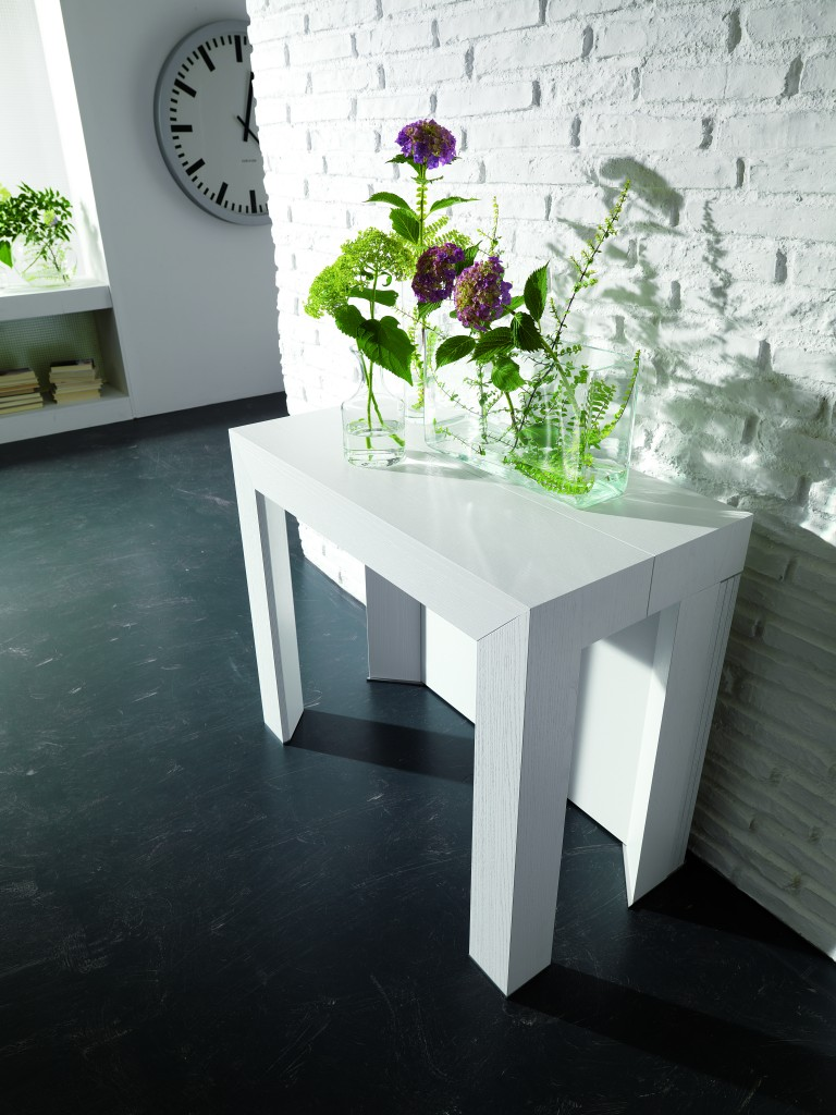 tranforming console table