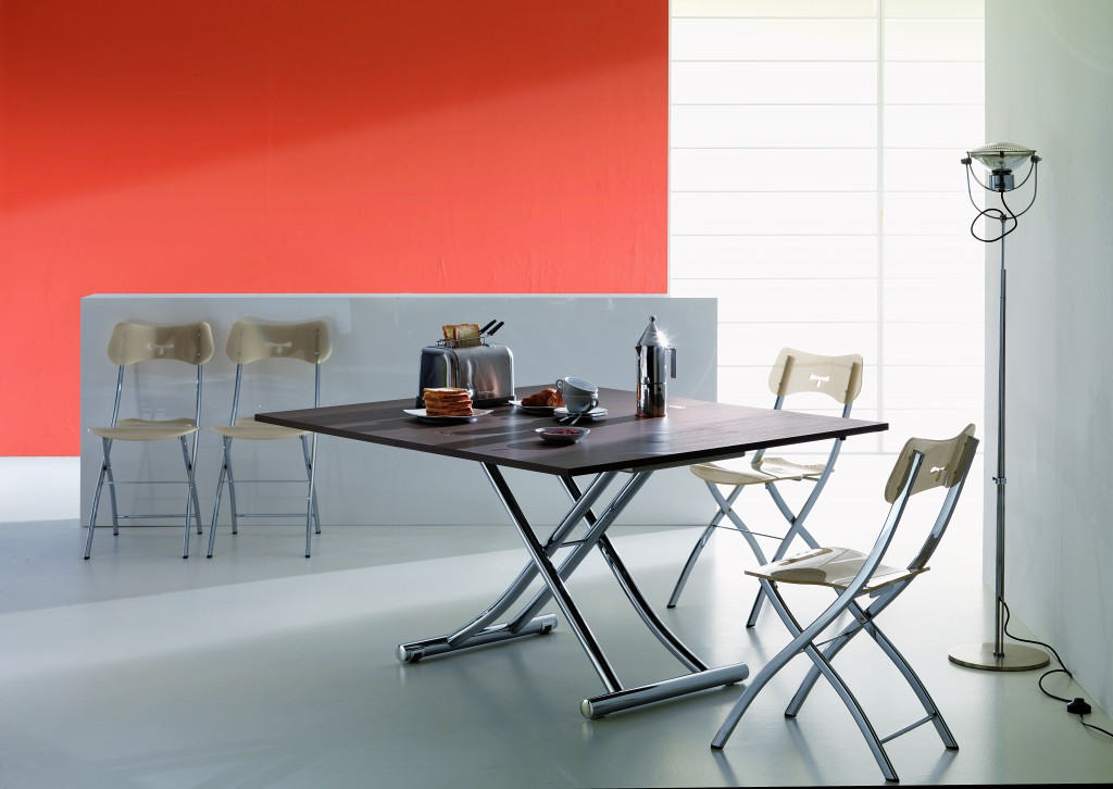 transforming dining table