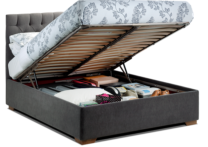 Extra large Storage Bed for extra small spaces