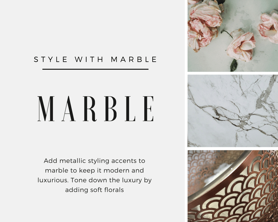 Trending Finish - Marble