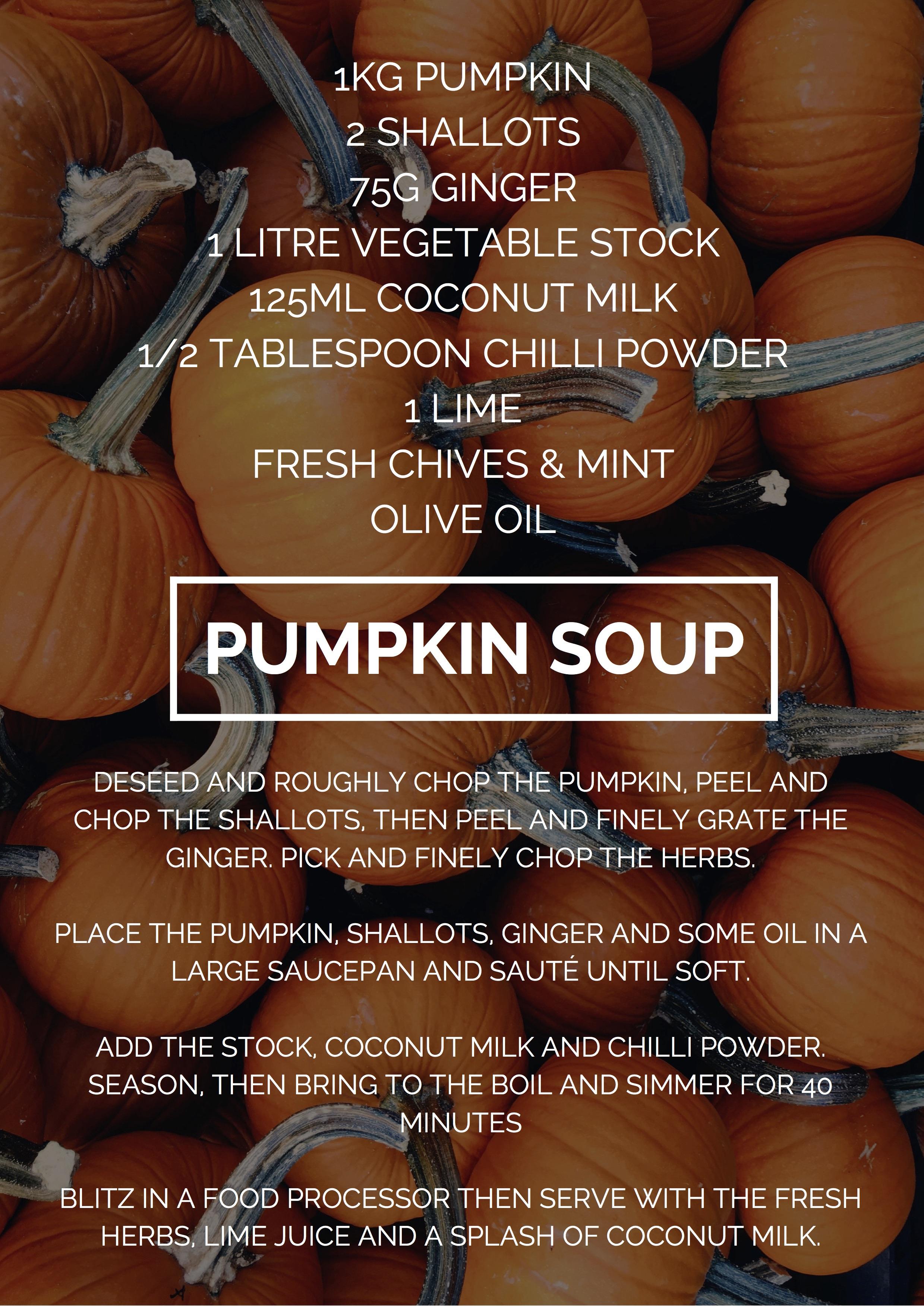 comforting halloween food