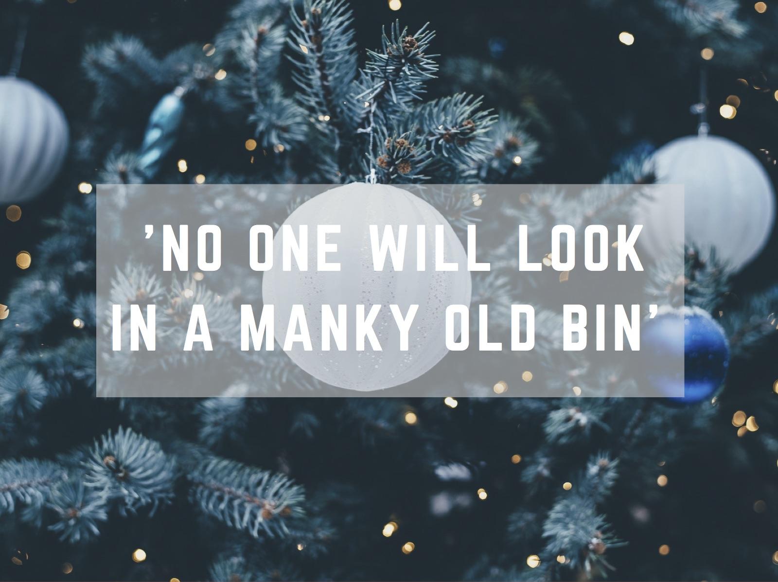 storage tips at christmas