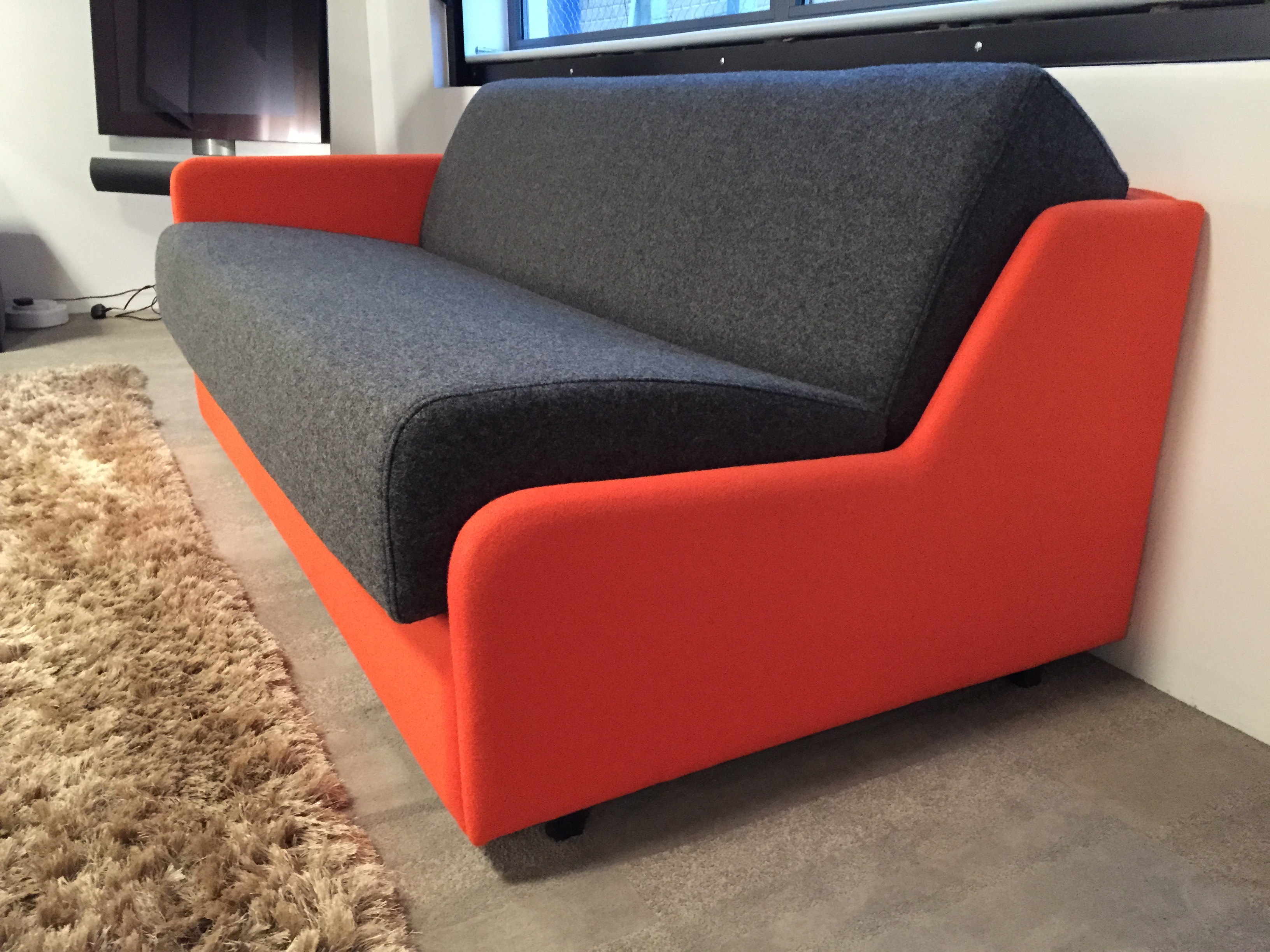 slim sofa bed