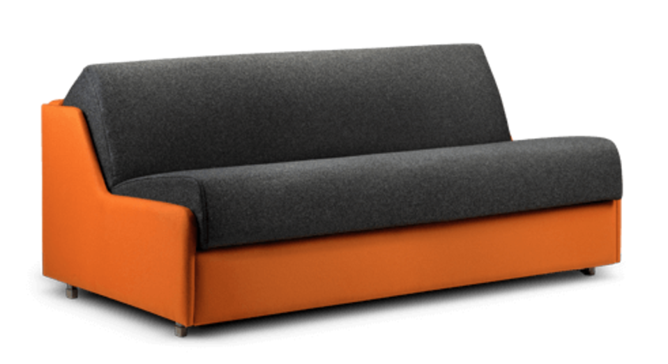 slim sofa bed that is narrow  compact and beautiful