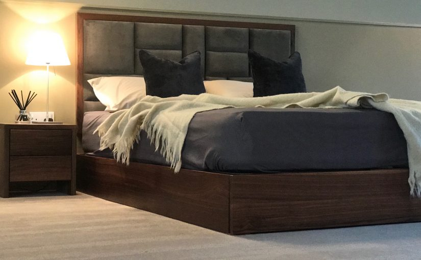 low storage bed