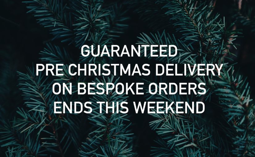 Pre Christmas Delivery still available at Furl