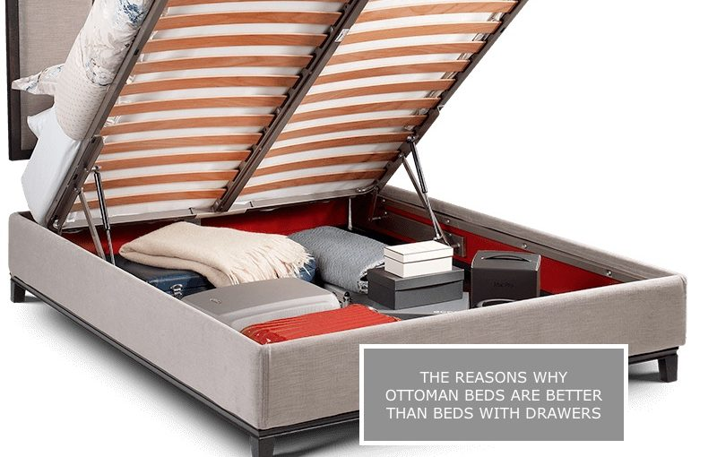 Why Ottoman Storage Beds are better than drawers