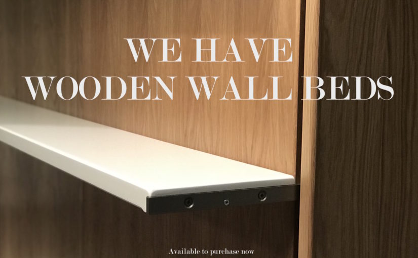 woodenn wall bed