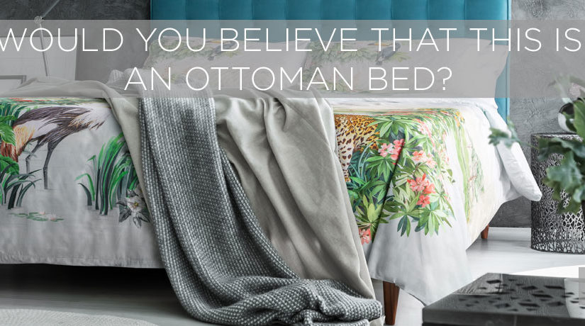 What actually is an ottoman bed?