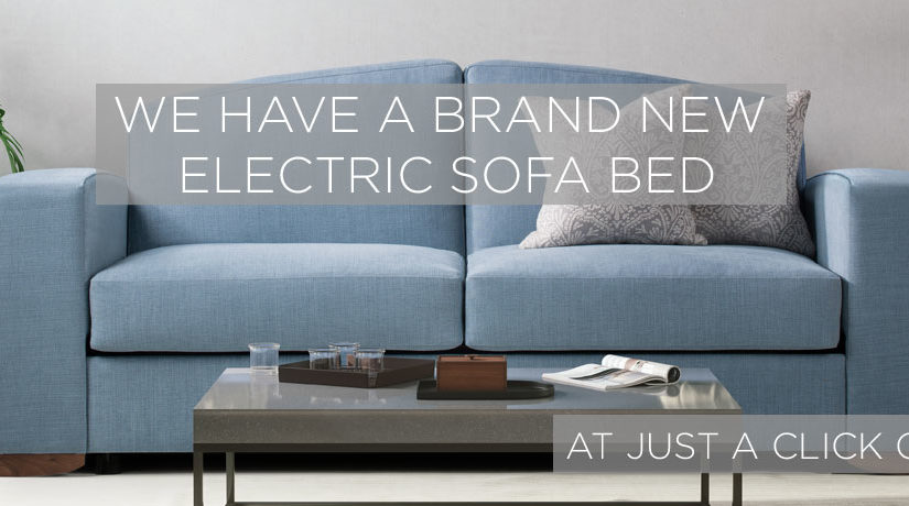 We have a brand new Electric Sofa Bed