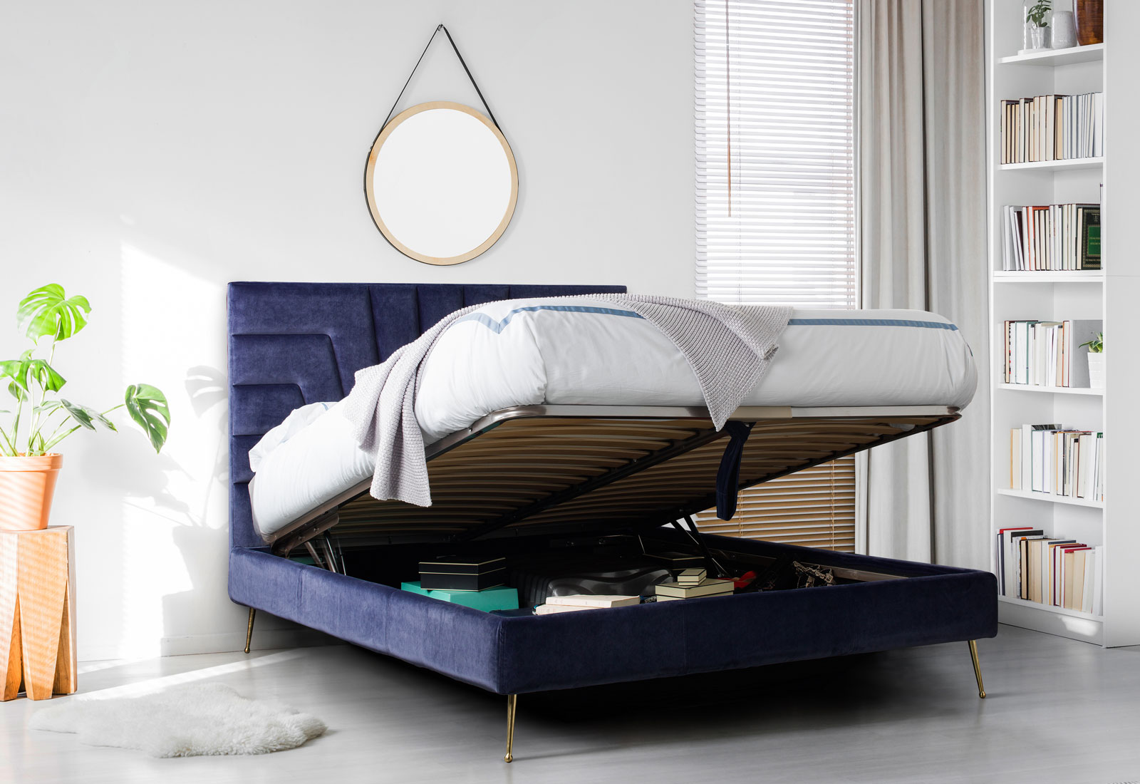 Stylish Storage Bed, Stylish Ottoman Bed, Stylish Ottoman, Ottoman Bed, Storage Bed,