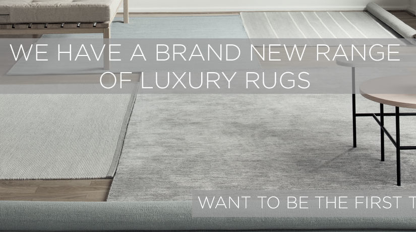 We have a brand new collection of luxury rugs