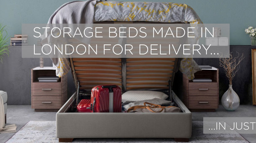 storage bed made quickly, speedy storage bed, storage bed quick delivery, storage beds express, storage bed express delivery, storage bed within 7 days