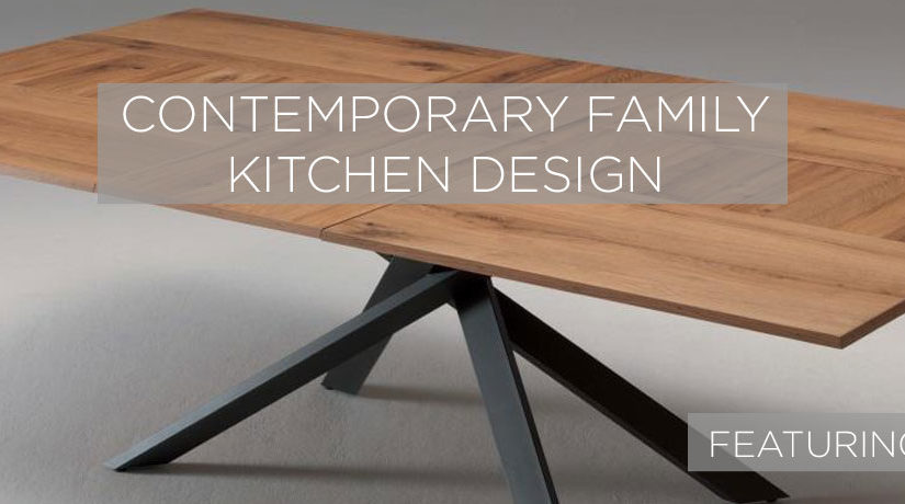 Get the look: Contemporary family kitchen design