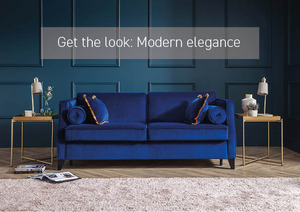 Get the look: Modern elegance with our Paris sofa bed