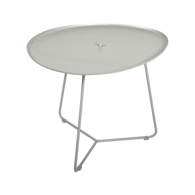 Cocotte Side Table / Tray  - Clay Grey