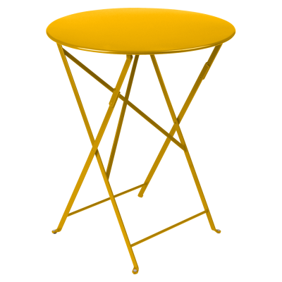 Bistro Folding Table 60cm - Honey