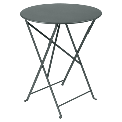 Bistro Folding Table 60cm - Storm Grey