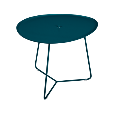 Cocotte Side Table / Tray  - Acapulco Blue