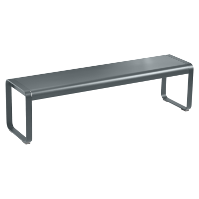 Bellevie Bench -  Storm Grey