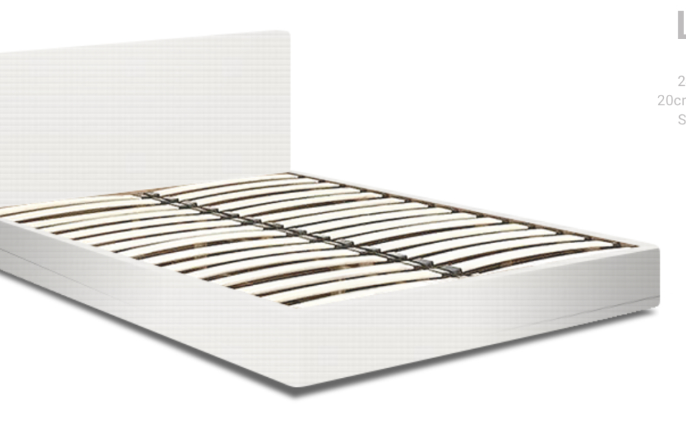 Super King Low Storage Bed