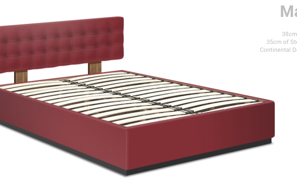 Continental Double Max Storage Bed