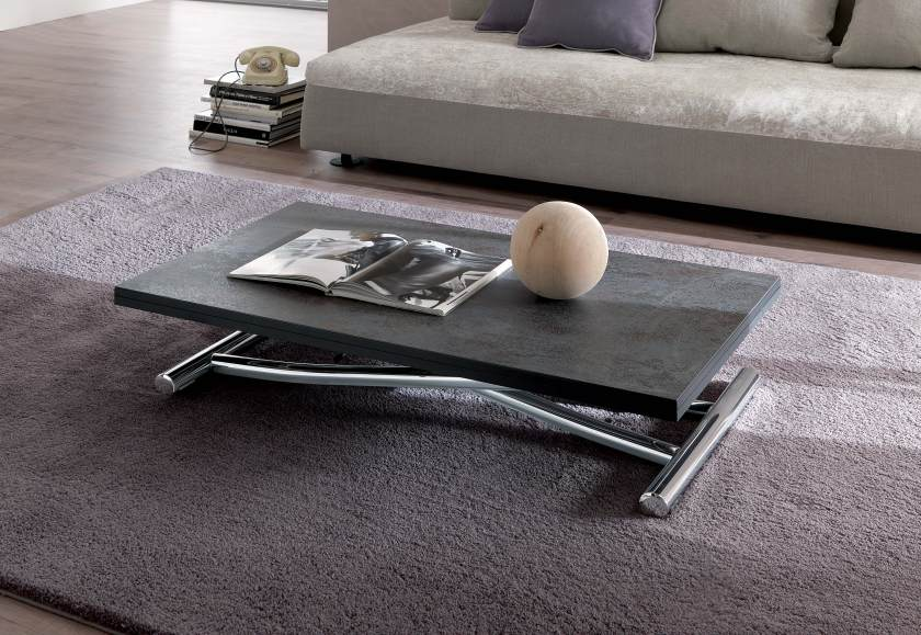Height Adjustable Coffee Table Table That Un Folds To Seat 6