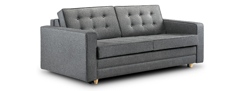 Retro sofa beds 50s style with a quality bed for Sofa bed 50s