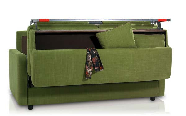 Cambio Sofabed Storage options