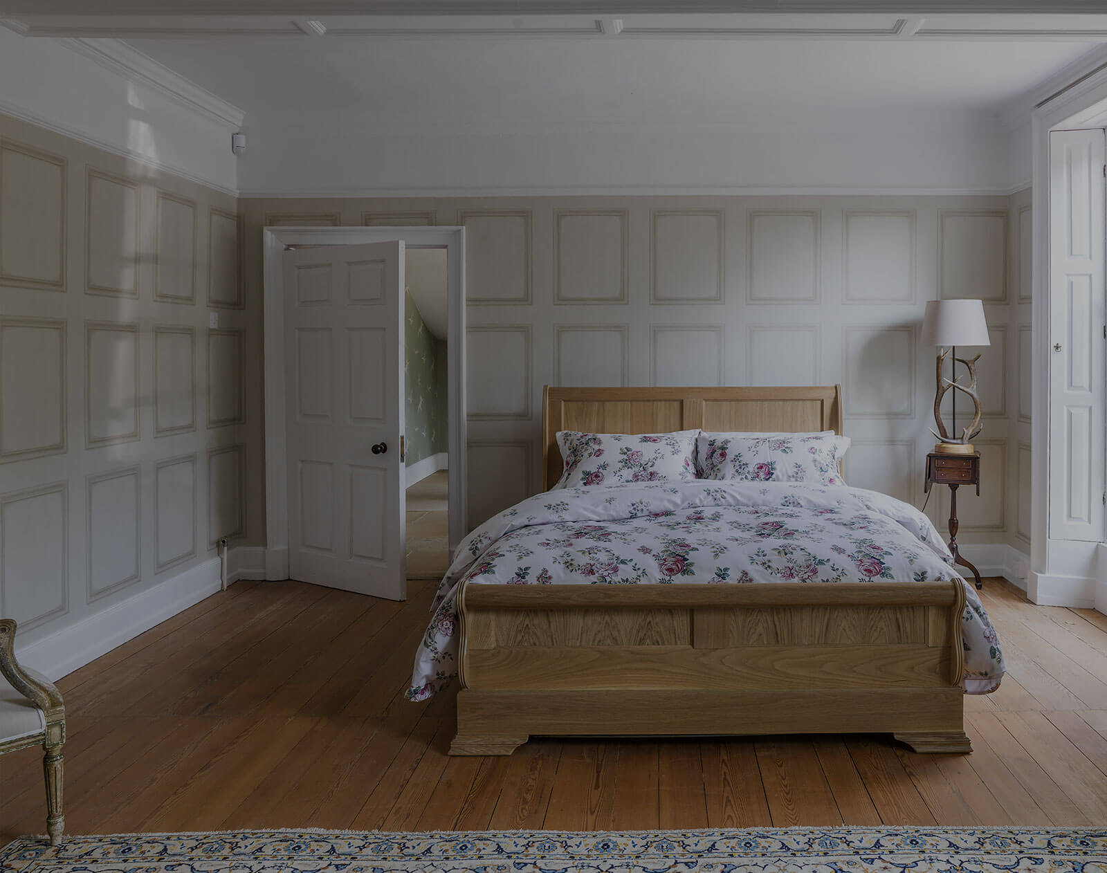 Wood Beds with Storage
