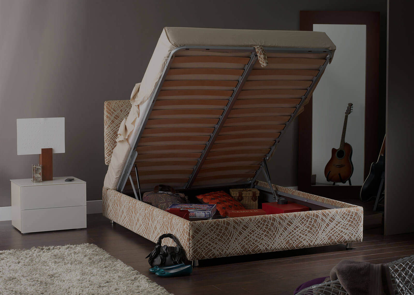 King size Storage Beds