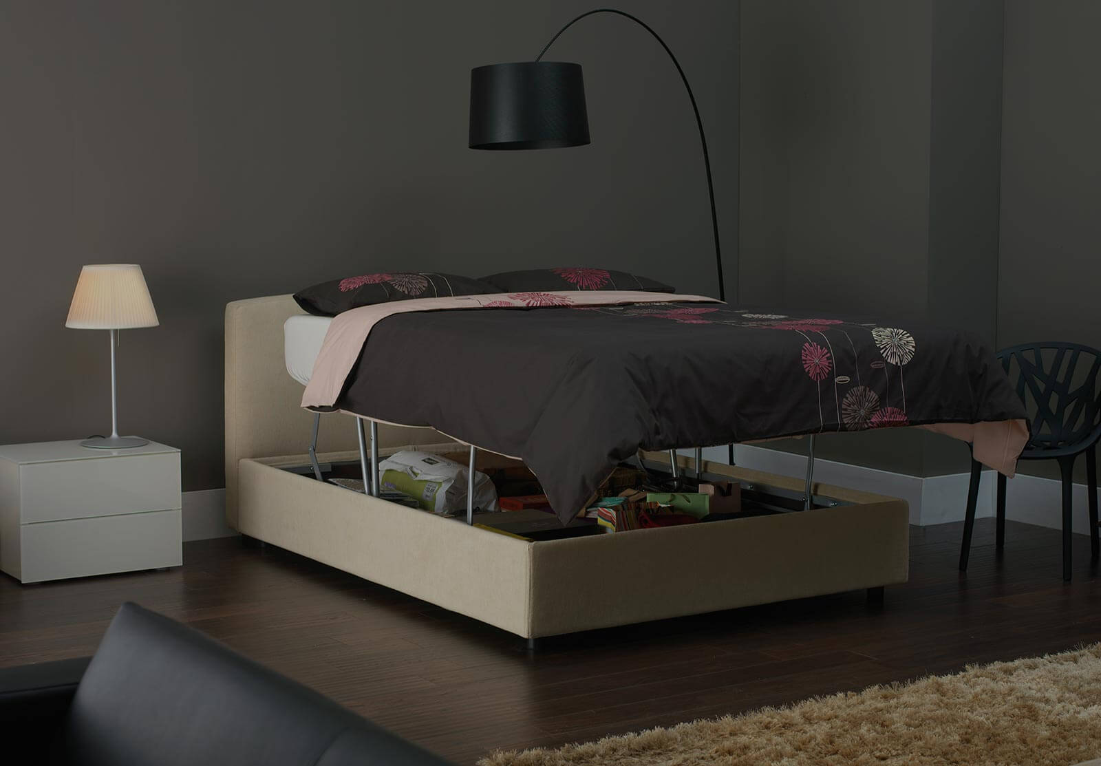 Luxury Deep Ottoman Beds Huge Storage In The Bed