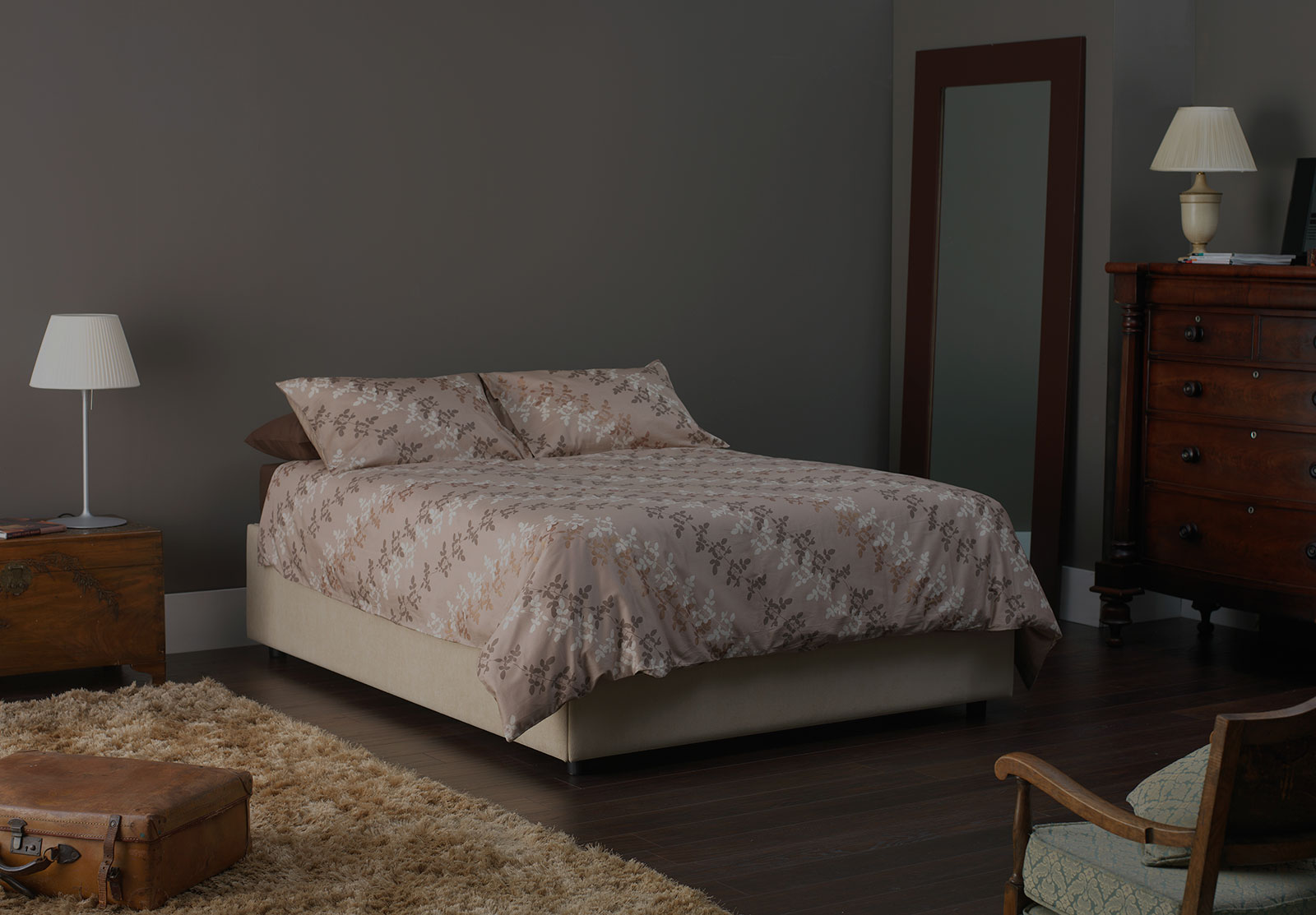 bed without headboard home design