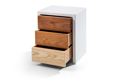 Compact Bedside Table bedside tables   compact clever design