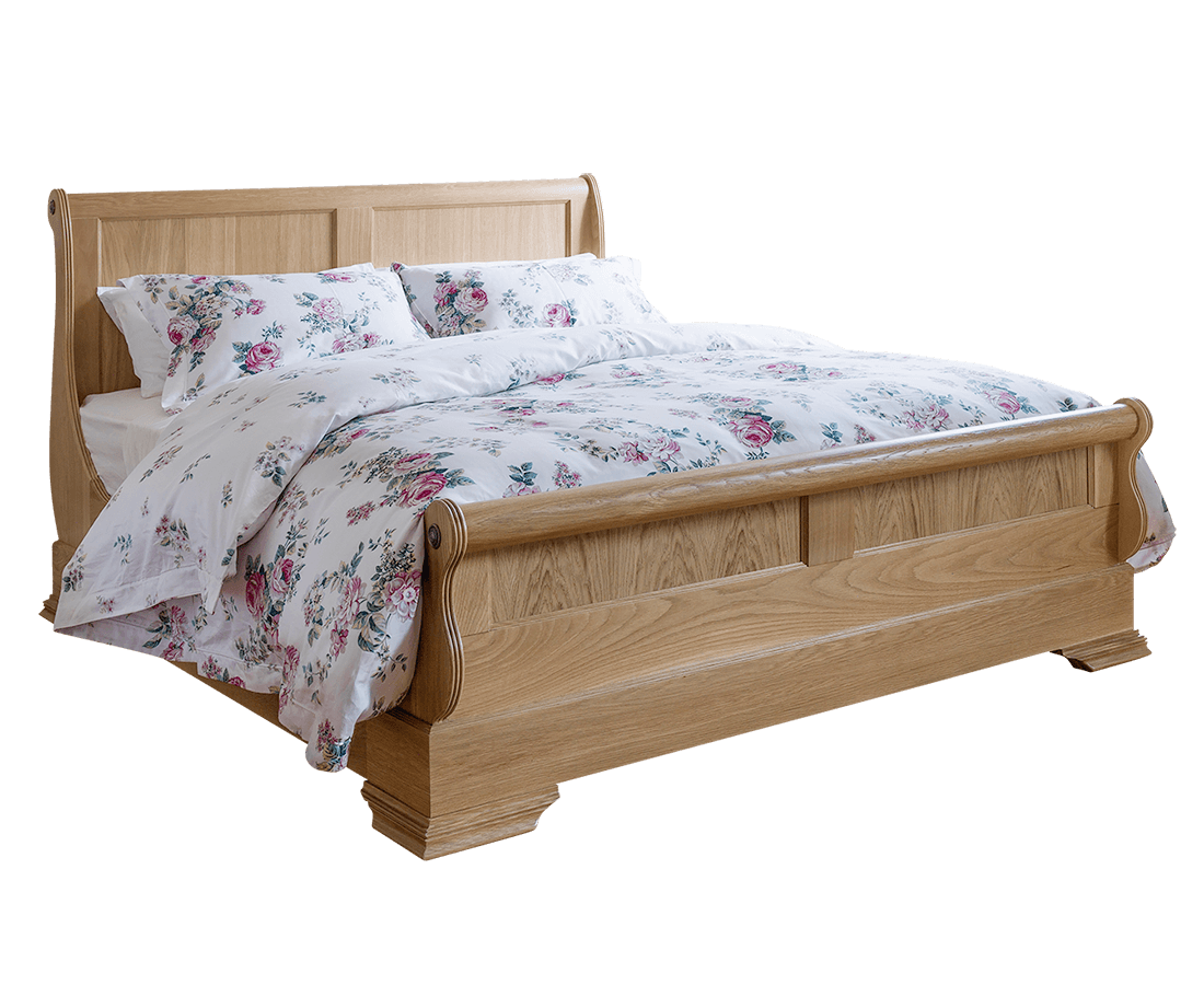 Wooden Beds With Storage ~ Wooden sleigh beds with storage solid wood